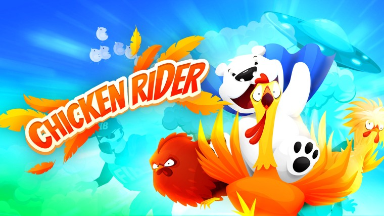 Chicken Rider 01 (press material)