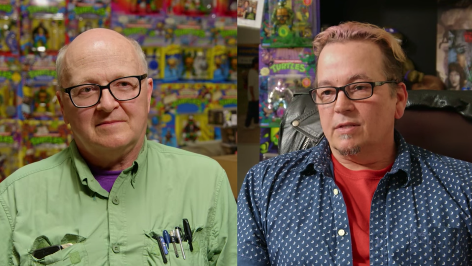 NickALive!: How 'Toys That Made Us' Reunited the Feuding Creators of the Teenage  Mutant Ninja Turtles